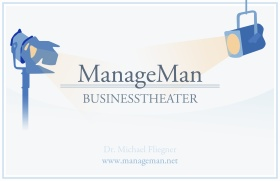 Manage Man Business Theater